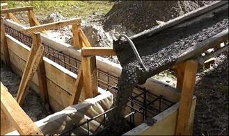 Строительные щиты для опалубки фундамента
