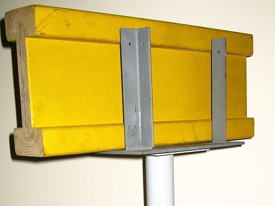 Балка деревянная двутавровая БДК-1 для опалубки перекрытий