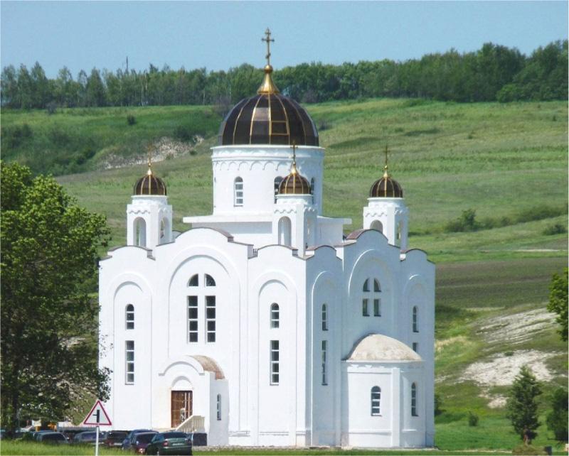 Остекленный купол церкви - бывает и так-3