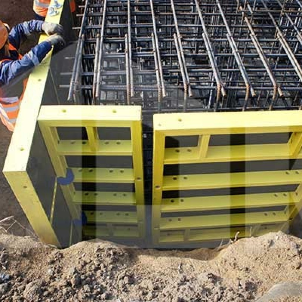 Аренда алюминиевой опалубки на фундамент