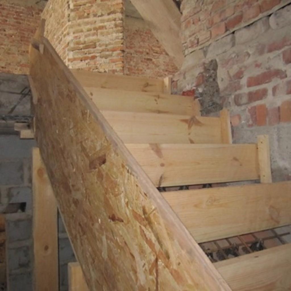 Инвентарная опалубка для лестниц