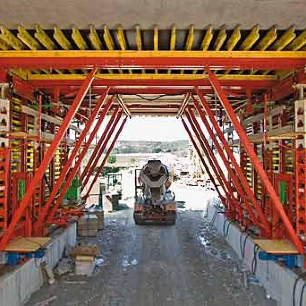 строительство туннеля