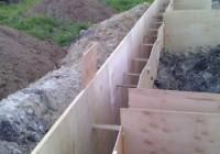 Фанера для опалубки фундамента: водостойкая и ламинированная