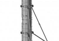 Металлическая опалубка круглых колонн