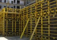 Крупнощитовая опалубка стен  — цена