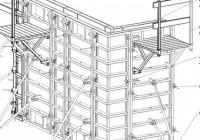 Алюминиевая опалубка для стен и колонн — цены, покупка и аренда