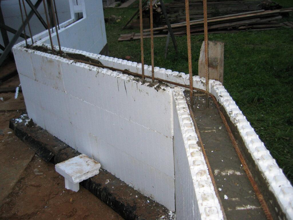 Строительство из несъемной опалубки — технология