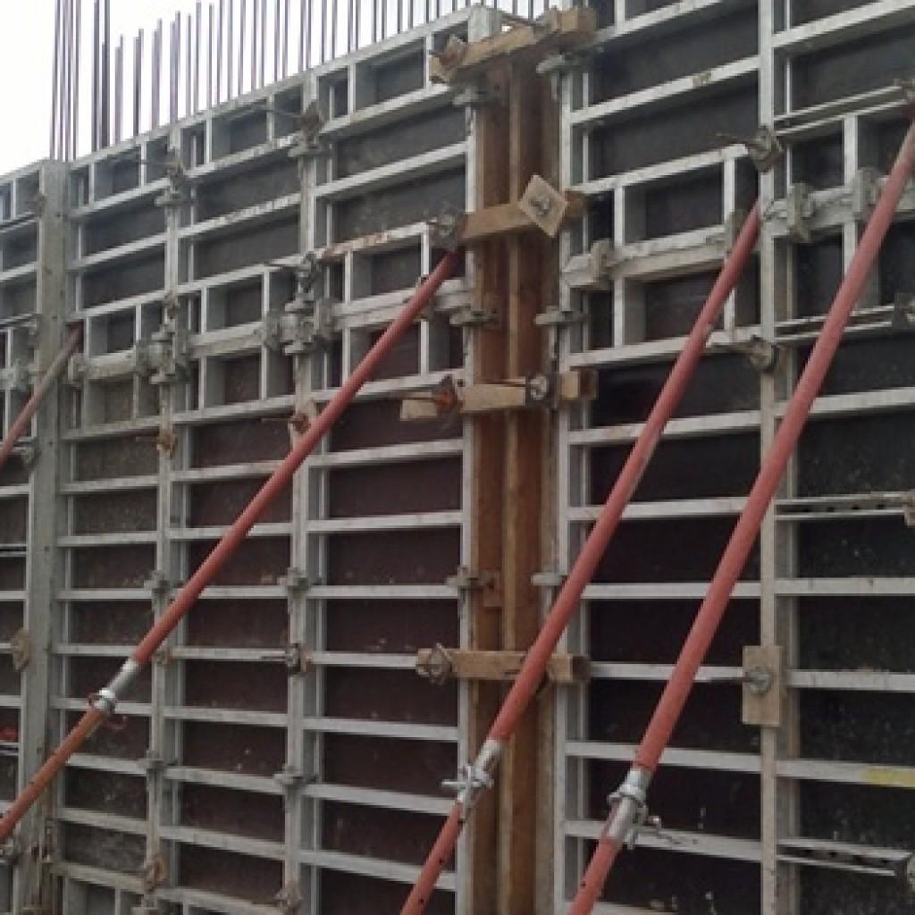 Алюминиевая опалубка стен в аренду